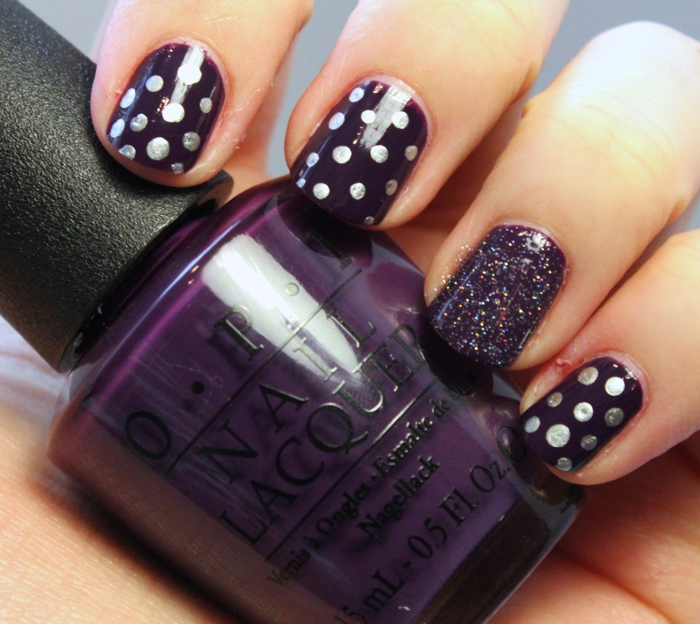 Swatch - Silver Dots