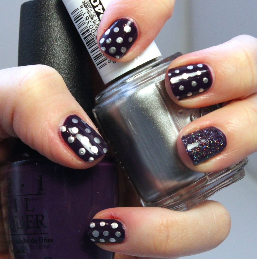 Swatch5 - Silver Dots